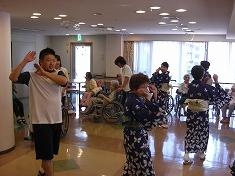 \(^o\) 盆踊り予行演習(/o^)/