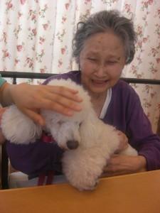 『久々』癒し犬
