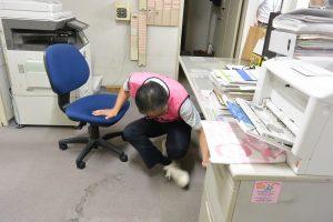 今年はじめの地震防災訓練
